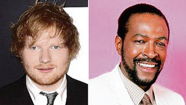 ¿Ed Sheeran plagió un tema de Marvin Gaye?