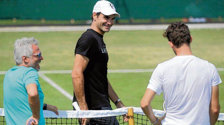 Listo. Federer