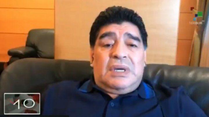 Maradona: Sin Messi somos un equipito más