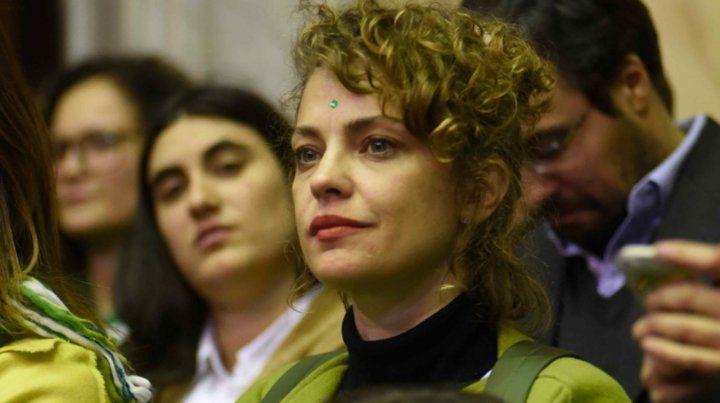 La mirada de Michetti es retrógrada, dijo Dolores Fonzi que llega hoy a Rosario
