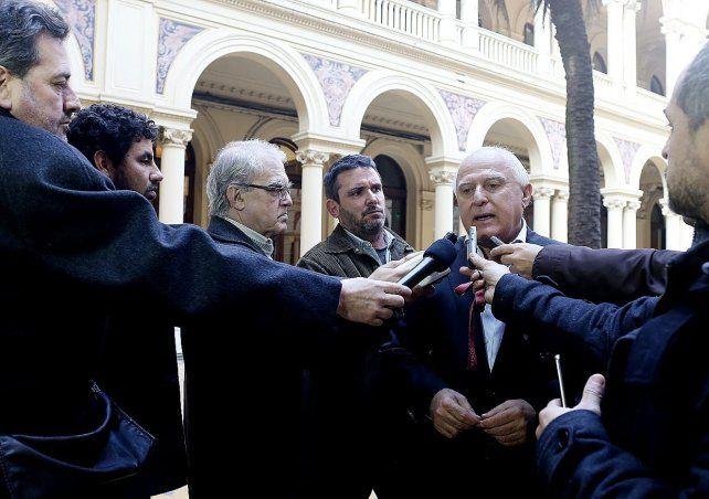 El gobernador Miguel Lifschitz dijo que nunca estuvo peleado con el titular del Partido Socialista