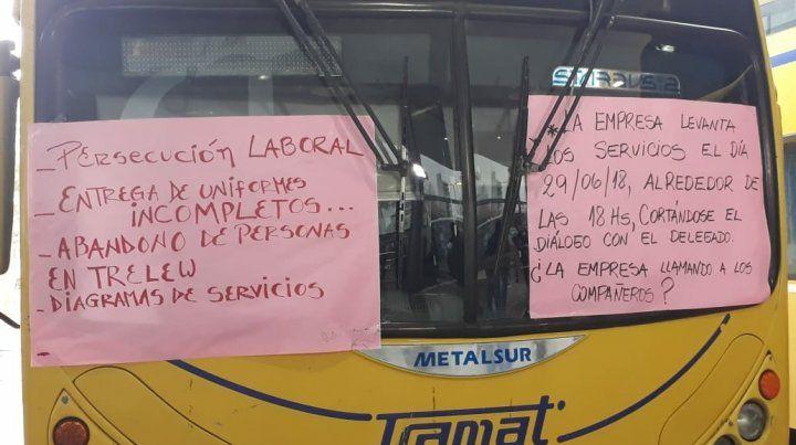 Los trabajadores denuncian persecución laboral.