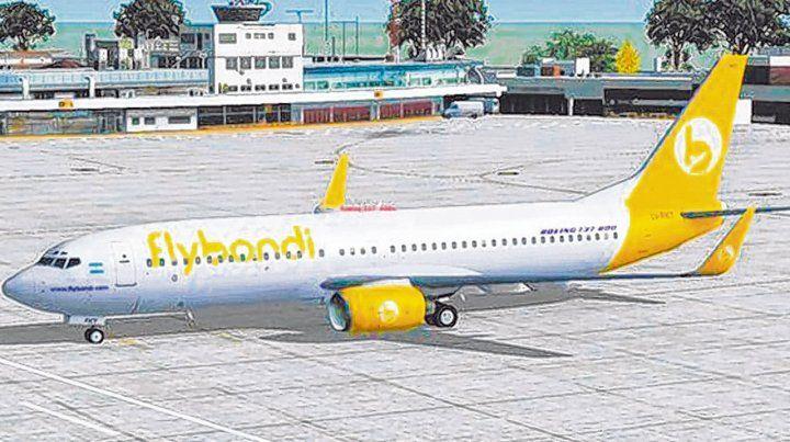Low cost. Las aerolíneas de bajo costo pidieron la flexibilización de los precios para llenar sus aviones con promociones.