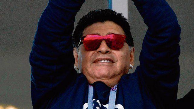 Maradona siempre tiene algo para decir