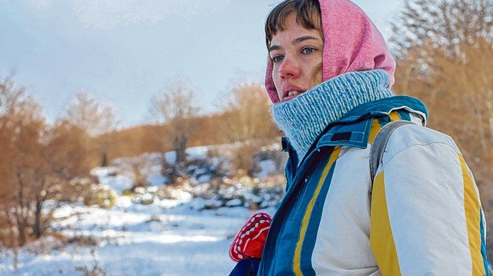 Filmada en el sur argentino. Paula