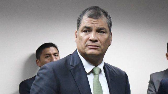 La Corte ecuatoriana pidió la captura del ex presidente Rafael Correa por secuestro