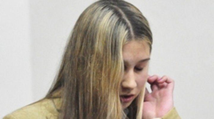 Nahir Galarza. La joven fue condenada ayer por unanimidad.