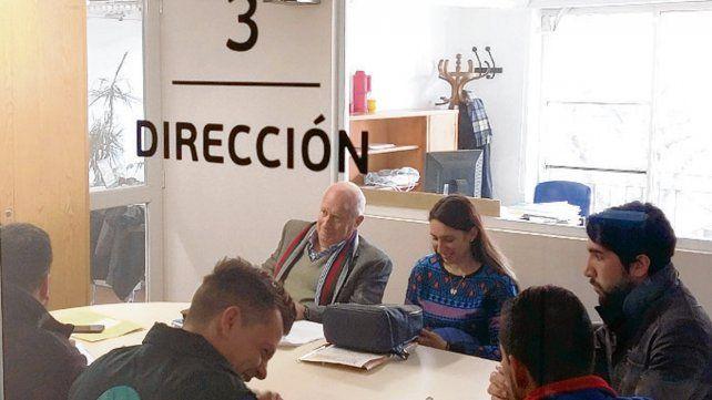 Audiencia. En el ministerio laboral se llegó a un acuerdo entre las partes.