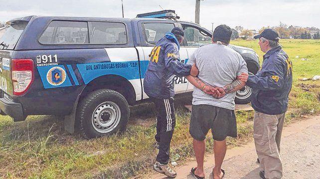 Detenido. Cristian Negro González cayó el pasado 11 de junio en un Fonavi del barrio Cristalería.