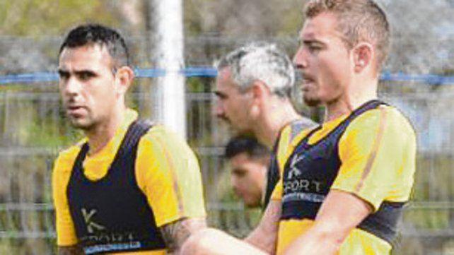 Herrera y Ruben en plena tarea.