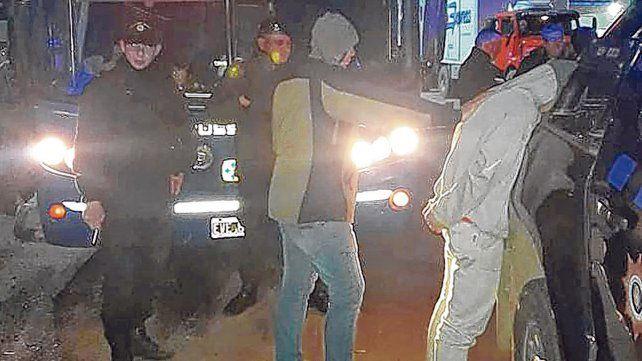 Interceptado. El adolescente fue apresado en un ómnibus en el kilómetro 100 de la autopista a Santa Fe.