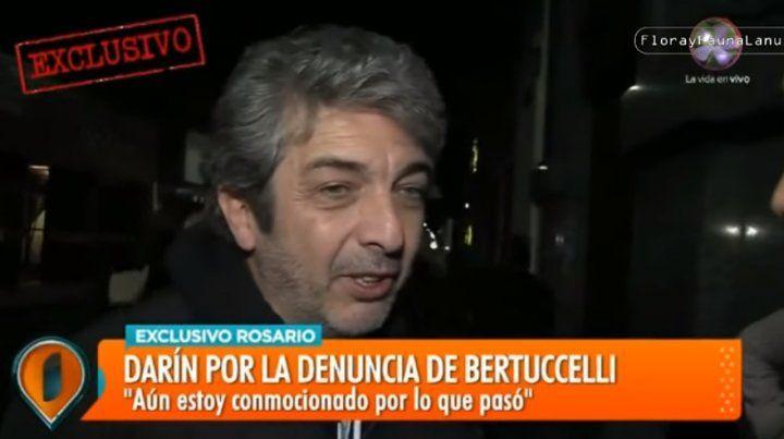 Es difícil hacerle frente a la difamación, dijo Ricardo Darín en su paso por Rosario