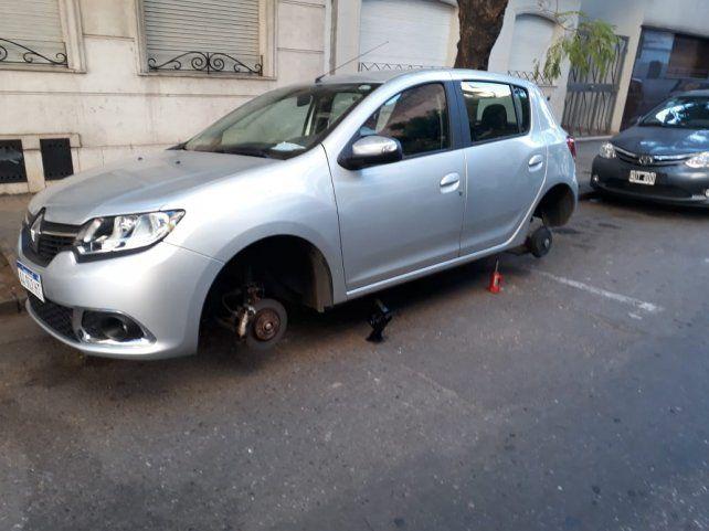 Diez detenidos al desbaratarse una banda dedicada a robar cubiertas de automóviles