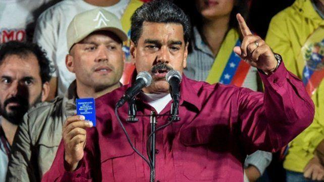 En la mira. Maduro denunció en varias ocasiones los planes de EEUU.