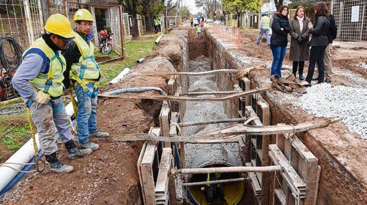 Estructura. Los conductos formarán parte del sistema de desagües.