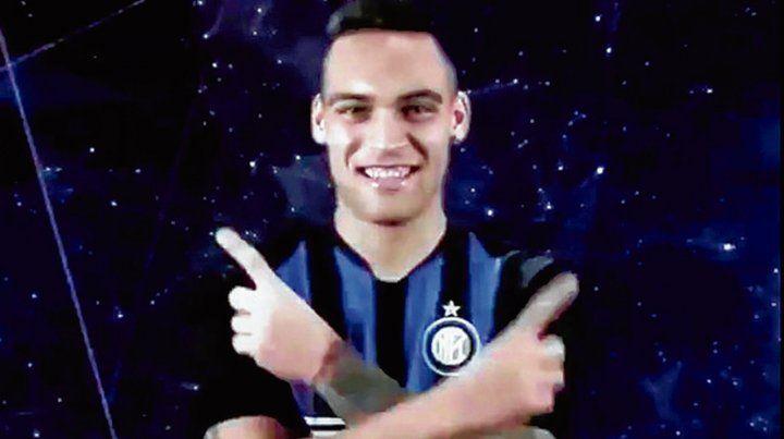 Martínez fue presentado en Inter