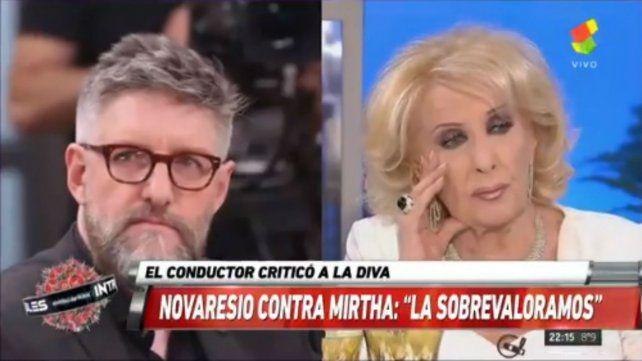 El enojo de Luis Novaresio: Dejémonos de joder con Mirtha Legrand