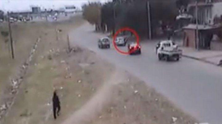 Detienen a un ladrón mientras asaltaba a un conductor