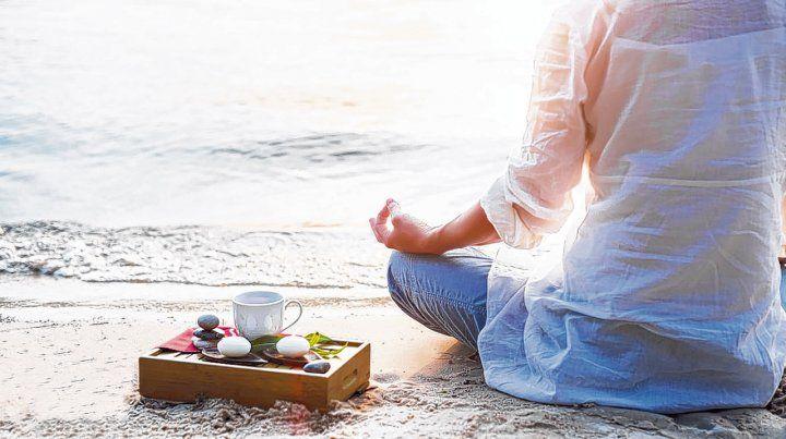Una pausa para encontrarse con la paz interior