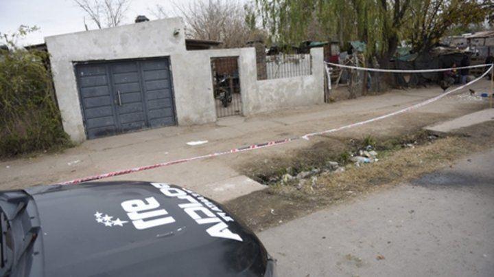 La escena. La casa de Magaldi al 9800 donde se cometió el crimen.
