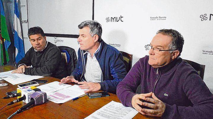 Anuncio. Freyre justificó las medidas en una baja de los ingresos y el incremento de los costos del municipio.
