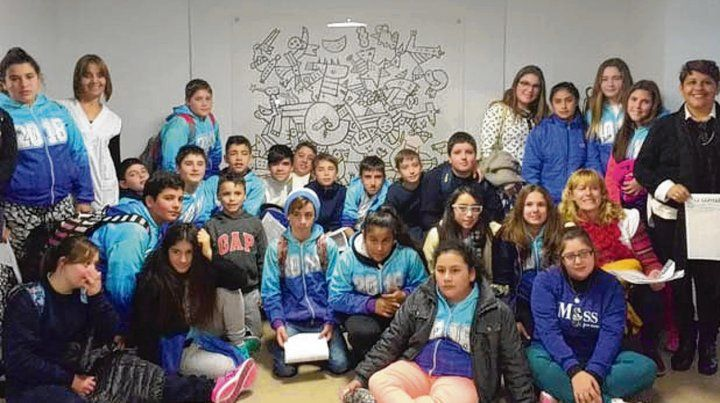 Proyecto. Los alumnos de 7° grado relatan el trabajo en el aula.