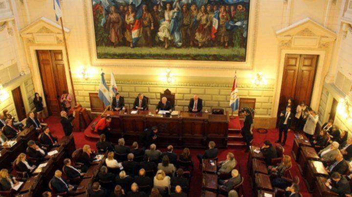 1º de mayo. Lifschitz planteó la reforma durante la Asamblea Legislativa.