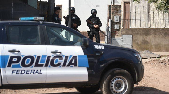 La Policía Federal realizó esta mañana allanamientos.