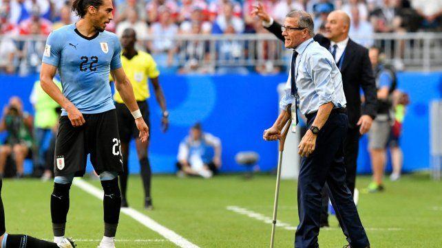 El maestro Tabárez planteará un trámite de pantano para frenar a los delanteros franceses.