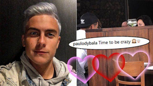 Oriana Sabatini y Paulo Dybala fueron vistos juntos en un restaurante