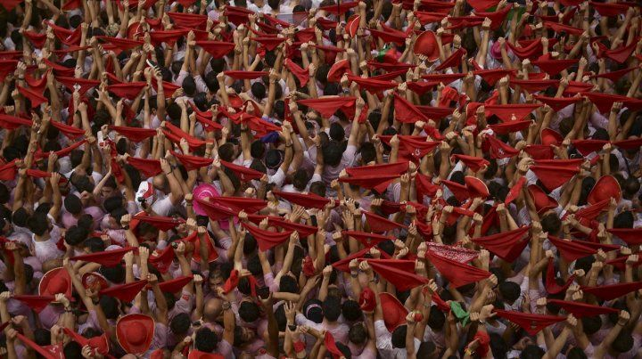 El chupinazo dió inicio a las fiestas de San Fermín 2018