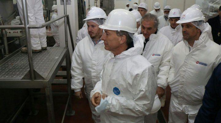 Macri aseguró que su gobierno está empeñado en terminar con los comportamientos mafiosos