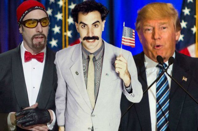 Baron Cohen está enfrentado con Trump desde 2003