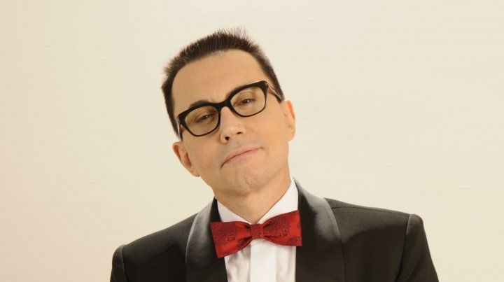 Marcelo Polino. El periodista encabeza por primera vez un show en Rosario.