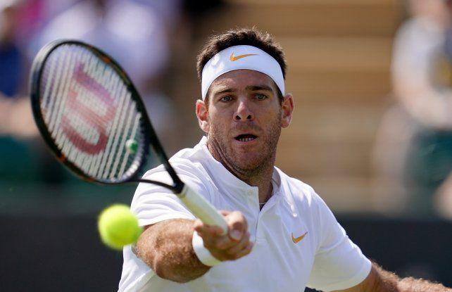 Del Potro avanzó a octavos de final en Wimbledon