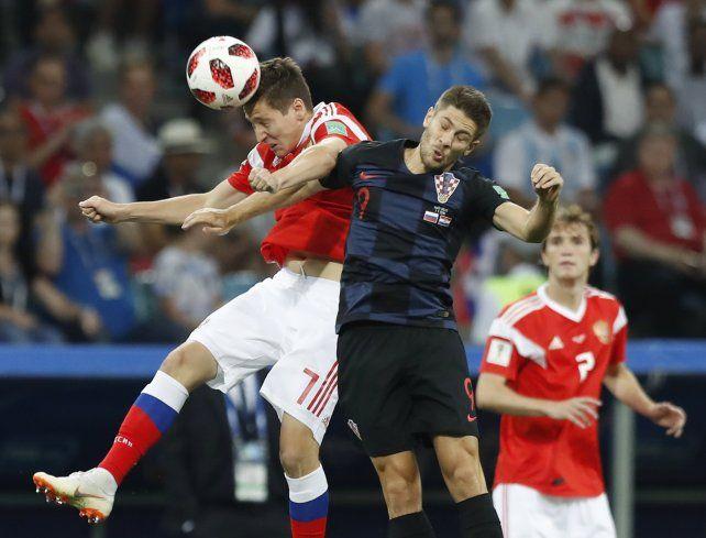 Croacia venció a Rusia por penales y se metió en semifinales