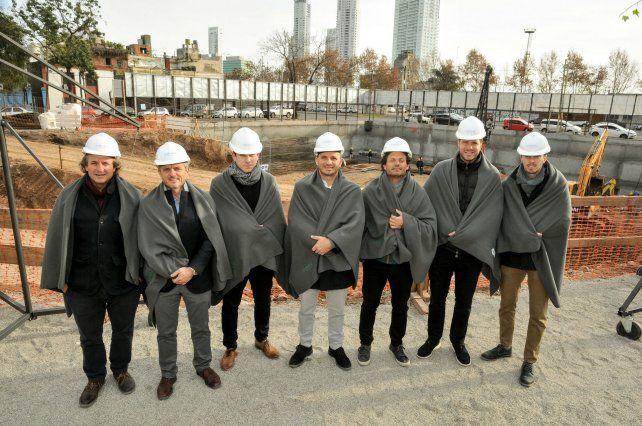 En macha. Los impulsores del proyecto presentaron los detalles de la obra.