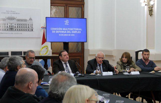 Alerta. El gobierno convocó a la Comisión Multisectorial en defensa del Empleo.
