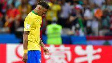 Adiós a un sueño. Neymar se destacó más por las polémicas que por su juego.