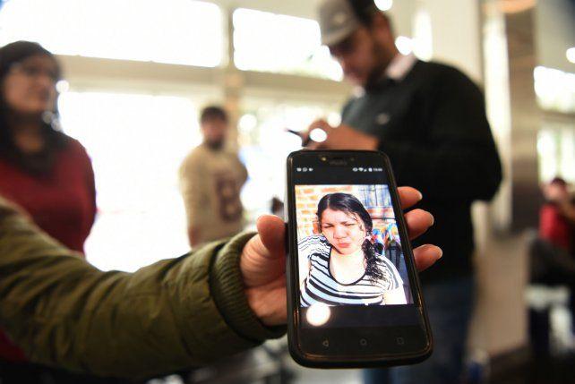 La víctima. Alejandra Soledad García murió al ser alcanzada por una bala.