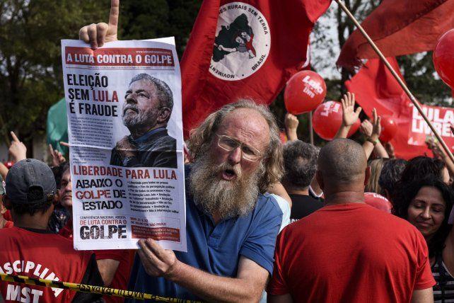 Cancelan la orden de liberación de Lula