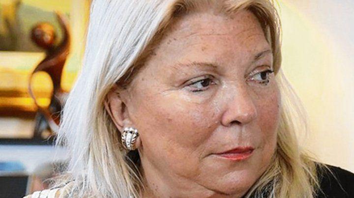 Ecos. Elisa Carrió dejó a la coalición oficialista en estado de ebullición.