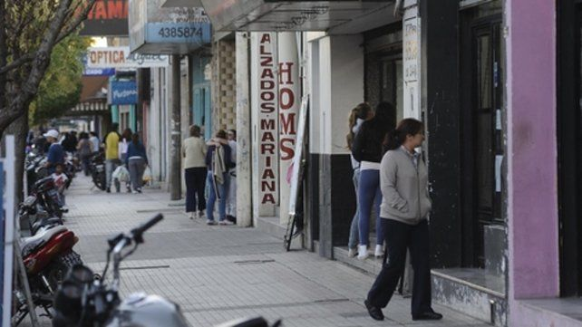 Una ayuda para crecer. El centro comercial de Empalme Graneros es el que sumó más solicitudes de créditos al Banco Municipal.