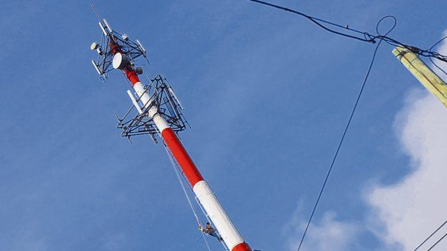 En debate. Un informe del Enacom dice que los niveles de contaminación electromagnética son bajos.