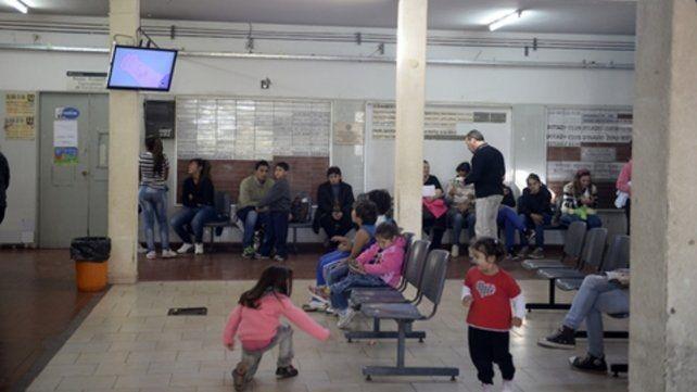 Concurrido. El hospital infantil es un centro de referencia en la región.