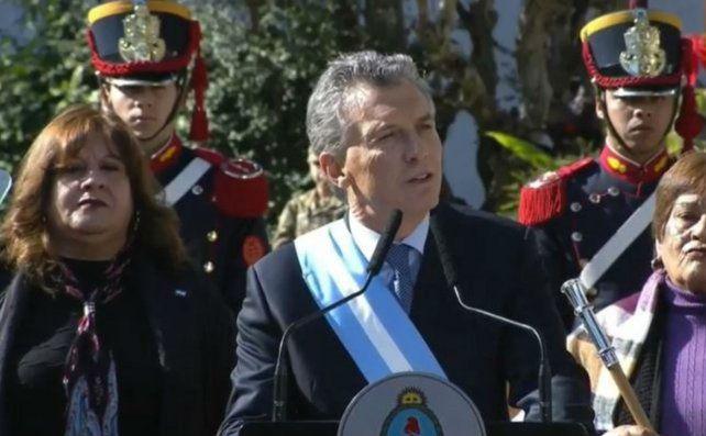 Macri le pidió a la oposición que aporte con sensatez
