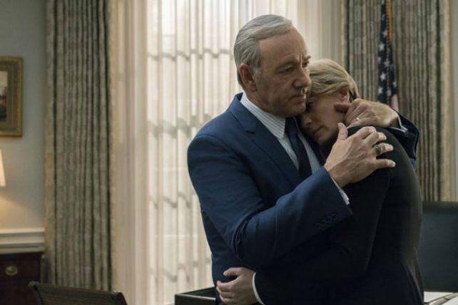 La protagonista de House of Cards dijo que no conoció a Kevin Spacey como persona