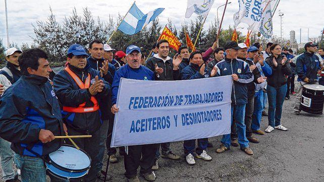 Aceiteros. La federación de trabajadores aceiteros y desmotadores completó las negociaciones salariales.