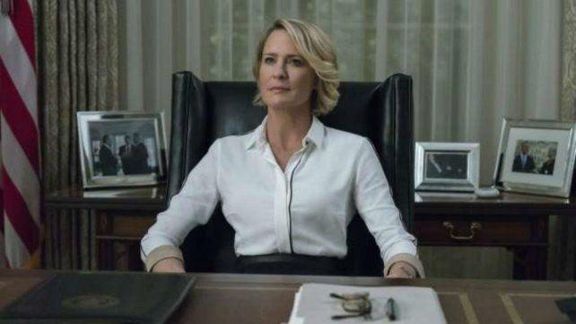 La actriz de House of Cards rompió el silencio