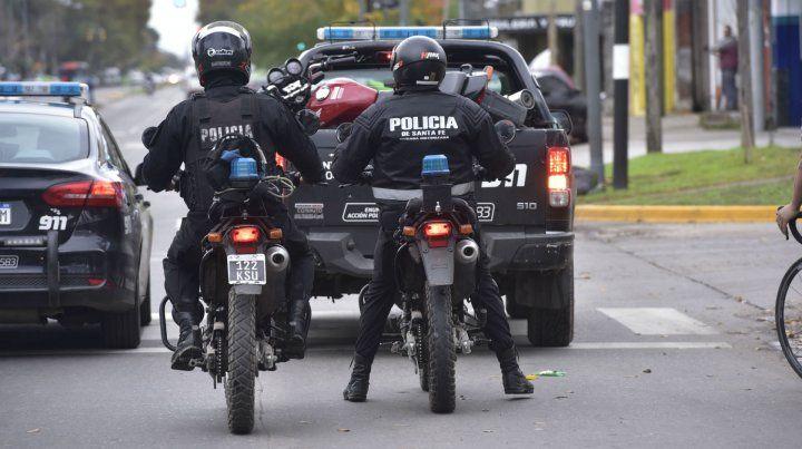 La policía detuvo a los ladrones en Villa Gobernador Gálvez.